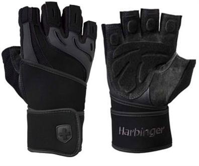 Harbinger Men's Training Grip Wristwrap Glove